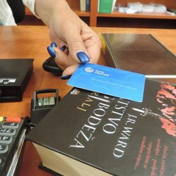 WITH RIJEKA CITY CARD (RCC) TO LIBRARY